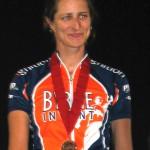 Christi Rekai gets a medal