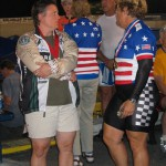 Jane and Donna: the sprinters confer