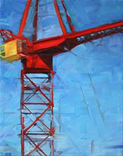 Crane Composition: Yellow Cab