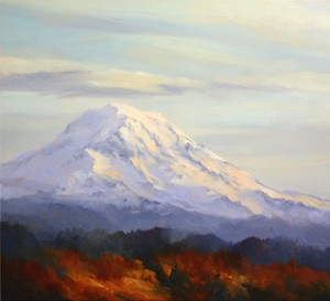 Painting: Crowned Rainier
