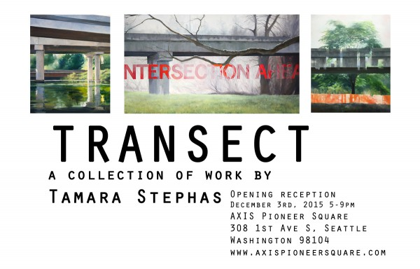 Show flyer: Transect
